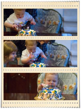 Spencer's First Birthday